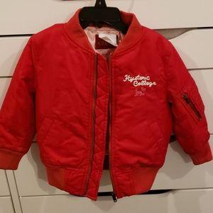 CHIPIE red kids bomber jacket 4T